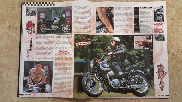 2 Café Racer August September 2001