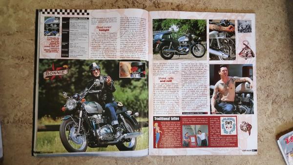 3 Café Racer Nr. 21 August September 2001
