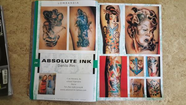 Annuario Tatuatori italiani 2004