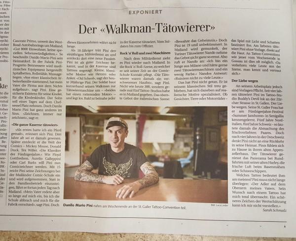 St. Galler Tagblatt 8. Oktober 2012